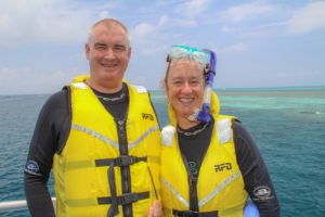 Snorkeling at Great Barrier Reef at Reefworld